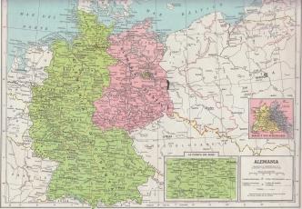 Dos Alemanias antes de la caída del muro