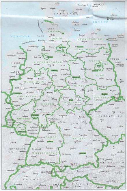 Mi Mapa Alemán de los Estados