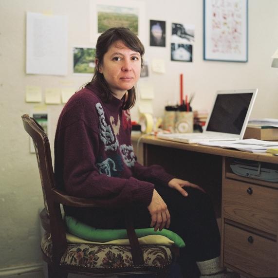 Julia en su taller. Berlín. Febrero 2013.