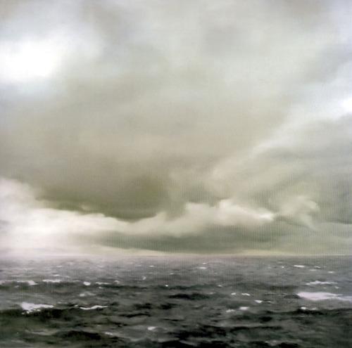 Gerhard Richter, Seascape (Cloudy), 1969 (Oil on canvas)