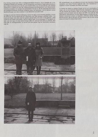 Contratapa del Diario que contiene parte del proyecto de Julia